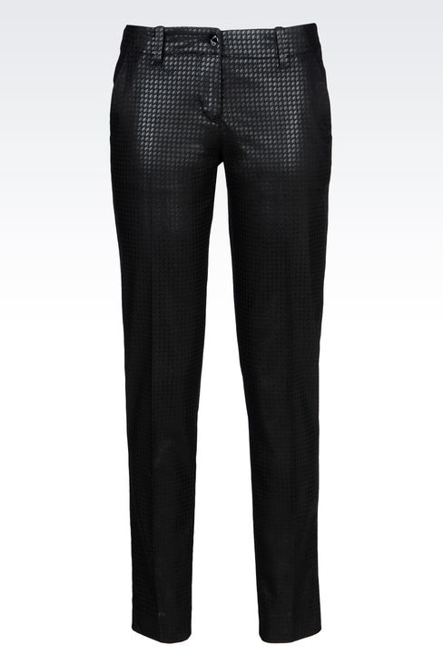 Pantalones Houndstooth